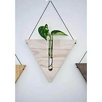 Kệ gỗ tam giác Decor