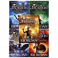 Combo Percy Jackson and the Olympians - 5 Books (Now A Major Film)