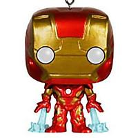 Funko POP Captain Iron Man Spider-Man Wonder Woman Keychain Pendant Chain