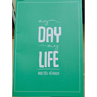 Sổ Ghi Chép Mục Tiêu Kế Hoạch Sổ Tay My Day My Lifetv