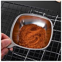 Bộ 2 chén đựng nước chấm inox 304  - 9.6x9.6x3cm 92g