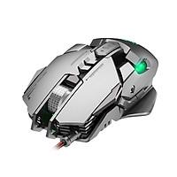 Chuột cơ gaming led RGB 6400DPI - J800 mechanical Gaming mouse