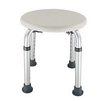 Bathroom Shower Bench Adjustable Height Shower Tub Stool Lightweight Bath Shower Seat Anti-slip Shower Chair for