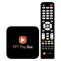 FPT Play Box 2018 (4K, Bluetooth 4.0)  tặng Gói Kênh Giải Trí 12 tháng và Gói Ngoại Hạng Anh, FA, Serie A 2018-2019 - Hàng Chính Hãng