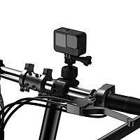 Kẹp Ghi Đông Telesin Cho GoPro, Sjcam, Yi Action, Osmo Action, Điện Thoại Trên xe đạp, xe máy, mô tô (Hàng Chính Hãng)
