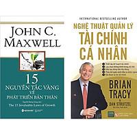 Combo 2 Cuốn Sách:  15 Nguyên Tắc Vàng Về Phát Triển Bản Thân+ Nghệ Thuật Quản Lý Tài Chính Cá Nhân