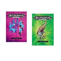 Combo 2 cuốn sách: Animorphs -người hóa thú-  tập 8: Kẻ ngoại tộc + Animorphs: cuộc xâm lược tập 1