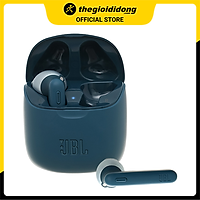 Tai nghe Bluetooth TWS JBL T225 Xanh Đen - Hàng Chính Hãng