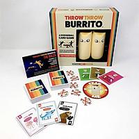 Bộ thẻ bài bóng ném Throw Throw Burrito cho gia đình phù hợp độ tuổi 7+