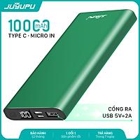 Sạc dự phòng JUYUPU PR-5C 10000mAh - màn hình hiển thị võ nhôm kim loại cao cấp dành cho iPhone Samsung OPPO VIVO HUAWEI XIAOMI - HÀNG CHÍNH HÀNG