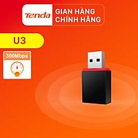 Tenda USB kết nối Wifi U3 tốc độ 300Mbps - Hàng chính hãng