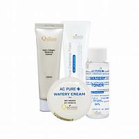 Bộ loại bỏ sạm nám, tàn nhang Queenie bổ sung Collagen trải nghiệm 4 sản phẩm