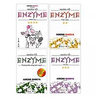 Nhân Tố Enzyme (Trọn Bộ 4 Cuốn) + Cuốn truyện song ngữ anh việt bìa mềm chú bé bánh gừng