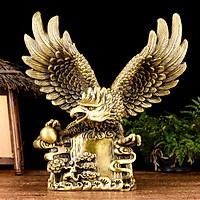 Tượng linh vật đại bằng bằng đồng thau phong thủy Hồng Thắng