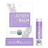 Son Dưỡng Môi Oải Hương Hữu Cơ - Alteya Organic Lavender Lip Balm (5g)