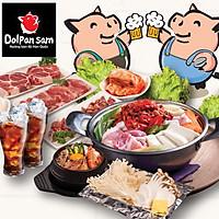 Dolpan Sam - Buffet Bàn Nướng Đá Phong Cách Hàn Quốc