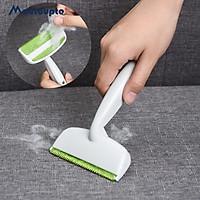 Bàn chải làm sạch lông thú cưng lông xơ 2 mặt có thể tái sử dụng dụng cụ làm sạch bụi quần áo Bàn chải làm sạch ghế sofa dễ dàng mang đi.