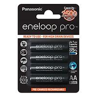 Pin sạc AA - Panasonic - Eneloop Pro 2500mah - Hàng Nhập Khẩu