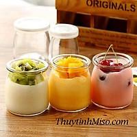 Hũ thủy tinh làm sữa chua tiện dụng loại 100ml-200ml..