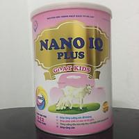 Sữa Dê NANO IQ PLUS GOAT KIDS Cho Bé Dưới 1 Tuổi Tăng Cân Tăng Đề Kháng Lon 900g