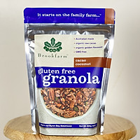 Ngũ cốc Brookfarm Cacao coconut Granola (C)- Gói 300g