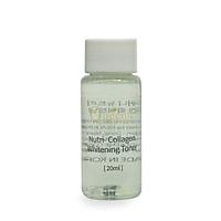 Nước hoa hồng Collagen Queenie trải nghiệm dưỡng trắng, se khít lỗ chân lông 20ml -  Mỹ Phẩm Hàn Quốc