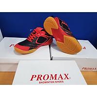 Giày cầu lông PROMAX PR-20018 nam nữ màu đỏ đen