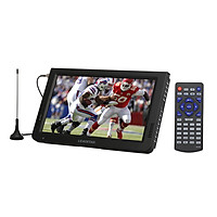 LEADSTAR 10 Inch Portable Digital ATSC TFT HD Screen Freeview LED TV Video Player for Car Caravan Camping Outdoor or