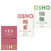 Combo 3 cuốn: OSHO - Yêu - Being In Love + Osho Đàn Ông - The Book Of Men + Osho Phụ Nữ - The Book Of Women