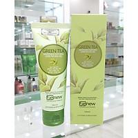 Kem tẩy da chết thảo dược trà xanh BENEW cao cấp Hàn quốc (120ml) Kèm 3 khuôn