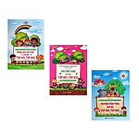 Combo 3 cuốn Đồng dao, thơ, truyện tiềm thức cho bé tập đọc tập nói
