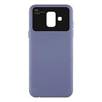 Ốp Lưng Dành Cho Điện Thoại Samsung Galaxy J6 2018 / Samsung Galaxy A6 Viền Gương Camera