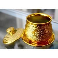 Ly nước thờ cúng kim sa vàng
