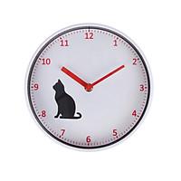 Đồng hồ treo tường Monote Rachel hình mèo 22cm