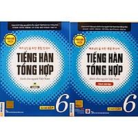 Combo Tiếng Hàn Tổng Hợp Dành Cho Người Việt Nam - Cao Cấp 6 bản 1 màu (SGK + SBT)