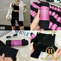 Quần legging ngố nâng mông siêu hot siêu đẹp 2021 HARI0321