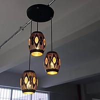 Đèn thả DENTO trang trí nội thất cao cấp, sang trọng, độc đáo - kèm bóng LED chuyên dụng.