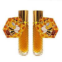thực phẩm chức năng Combo 2 Thỏi mật ong thiên nhiên nguyên chất dưỡng môi KB 10ml
