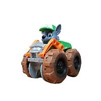Đồ chơi chó cứu hộ Paw Patrol, mô hình đồ chơi chú chó cứu hộ Rocky, bánh xe di chuyển nhanh
