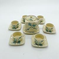 Bộ ấm chén/ Bộ bình trà nhỏ xin độc đáo - Tặng 01 hộp quà tặng