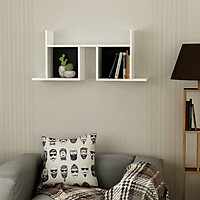 Kệ gỗ treo tường trang trí hiện đại SMLIFE Waldo