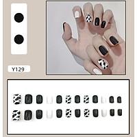 Bộ 24 móng tay giả nail thơi trang như hình (Y129)