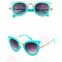 Shades Goggle Fashion Kid'S Sunglasses Boys Girls Child Mirror Sunglasses