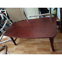 bàn sofa chân cố định 45x90 màu đậm