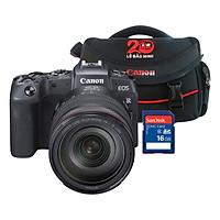 Combo: Máy Ảnh Canon EOS RP + Lens 24-105mm + Thẻ nhờ + Túi đựng máy ảnh - Hàng chính hãng
