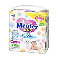 Bỉm quần Merries siêu thấm hút, mềm mịn Size S...