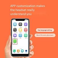 Tai Nghe Bluetooth Không Dây QCY T1C 5.Kiểu Dáng Thể Thao Mini Siêu Nhỏ Thích Hợp Apple / Android Phổ Thông - Màu Trắng