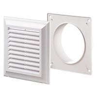 Cửa gió nhựa vuông Décor 140*140/100- Hàng nhập khẩus