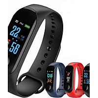 Đồng hồ thông minh đo nhịp tim, bước chân kết nối thông báo với điện thoại