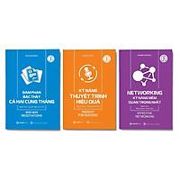 Combo 3 cuốn: Kỹ năng thuyết trình hiệu quả + Networking - kỹ năng mềm quan trọng nhất + Đàm phán bậc thầy cả hai cùng thắng
